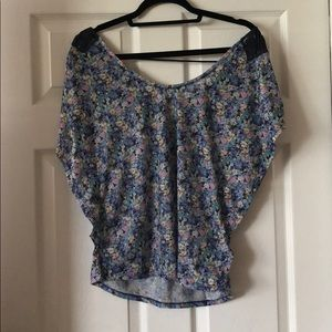 Pull&Bear woven floral top